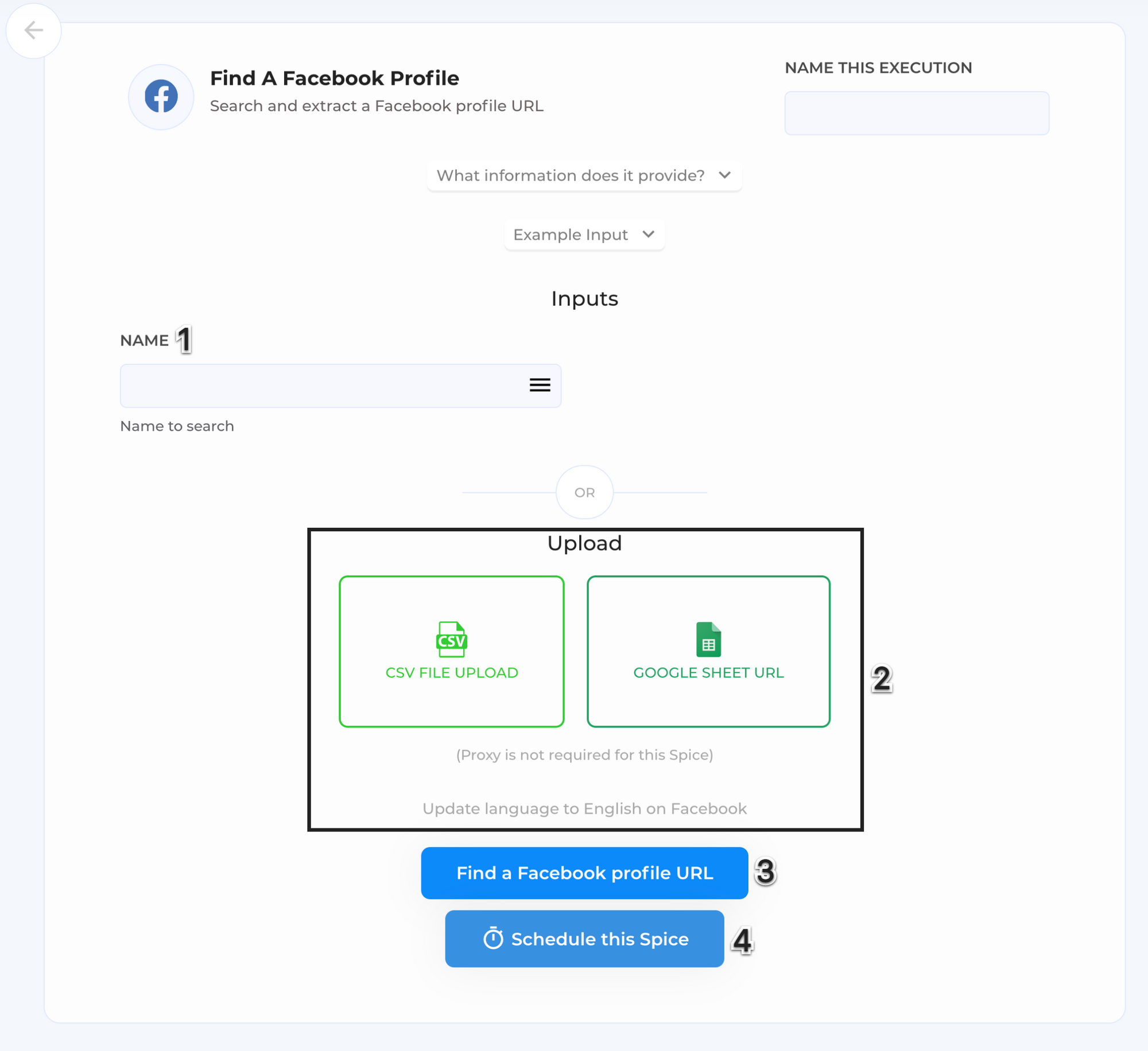 Find-A-Facebook-Profile-Automation-page