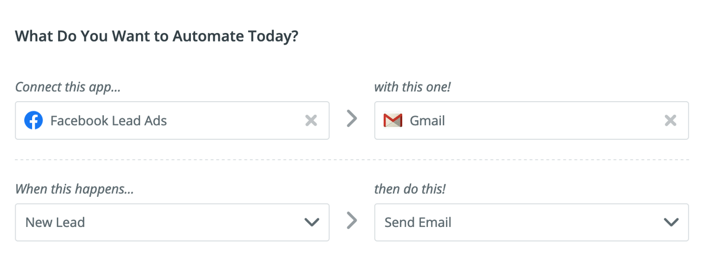 What would you like to automate